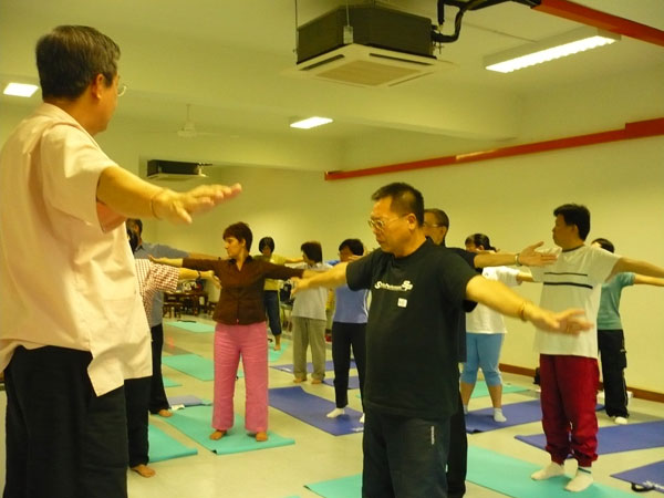 Master Tan conducting  
